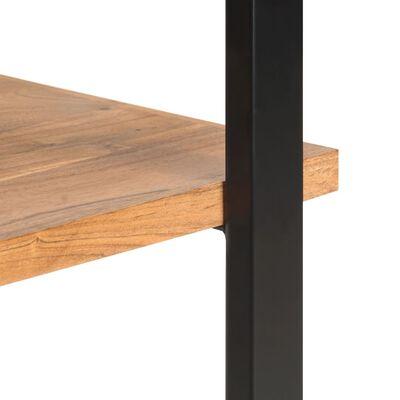 vidaXL Bibliotecă cu 4 rafturi, 80 x 40 x 180 cm lemn masiv de acacia