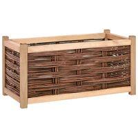 vidaXL Strat înălțat de grădină, 80 x 40 x 40 cm, lemn masiv de pin