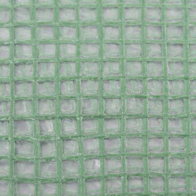 vidaXL Copertină de rezervă pentru seră (24 m²), verde, 400x600x200 cm