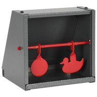vidaXL Țintă de tragere, 2 ținte, design rotund și rață