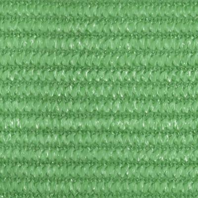 vidaXL Pânză parasolar, verde deschis, 2x4 m, HDPE, 160 g/m²