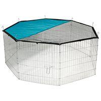 Kerbl Țarc exterior octagonal pentru animale de companie, 82708