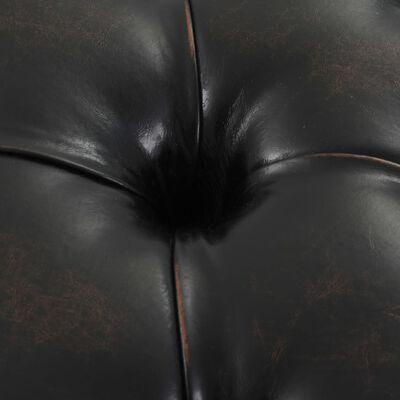 vidaXL Bancă, tapițerie din piele artificială, 160 x 40,5 x 50,5 cm
