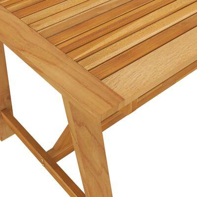 vidaXL Set de masă pentru grădină, 7 piese, gri închis