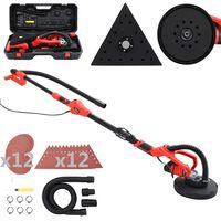 vidaXL Kit mașină de șlefuit rigips 2-în-1, 710 W