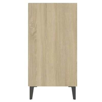 vidaXL Servantă, stejar Sonoma, 57x35x70 cm, PAL