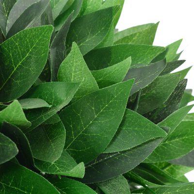 vidaXL Plantă artificială dafin cu ghiveci, verde, 70 cm