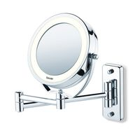 Beurer Oglindă iluminată pentru cosmetică, BS59, argintiu 584.10