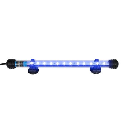vidaXL Lampă cu LED pentru acvariu, albastru, 28 cm