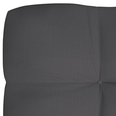 vidaXL Pernă pentru canapea de grădină, antracit, 120x40x12 cm, textil
