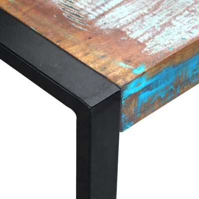 vidaXL Mese suprapuse, 3 piese, lemn masiv reciclat