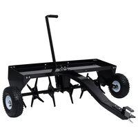 vidaXL Scarificator de gazon pentru mașina de tuns iarbă ride-on 102cm