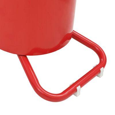 vidaXL Pompă de gresare acționată manual, 12 L