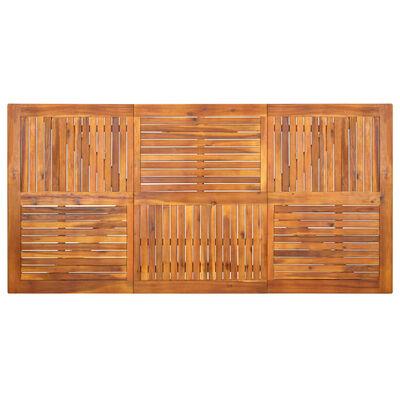 vidaXL Set mobilier pentru grădină, 7 piese, gri
