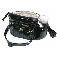 FLAMINGO Geantă transport animale Lola, negru, 25x16x15 cm, 503408