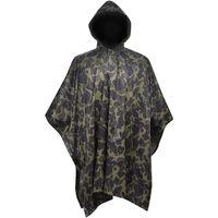 Pelerină de ploaie Army pentru camping/camuflaj