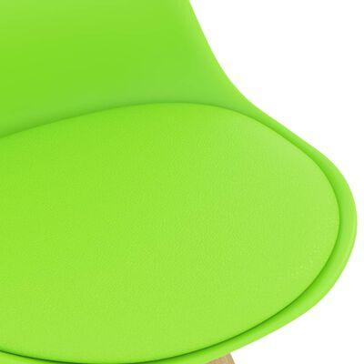 vidaXL Set mobilier de bar, 5 piese, verde