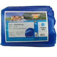 Summer Fun Prelată piscină solară de vară, albastru, 350cm, PE, rotund