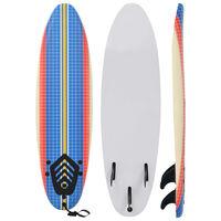 vidaXL Placă de surf, 170 cm, model mozaic