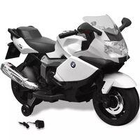 Motocicletă electrică pentru copii BMW 283, 6V, alb