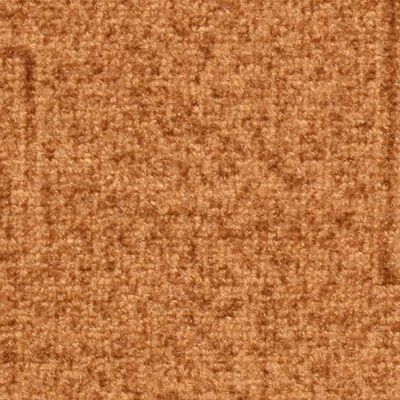 vidaXL Covorașe scări autoadezive, 15 buc., bej, 65x21x4 cm