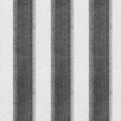 vidaXL Jaluzea rulou de exterior, 300 x 140 cm, dungi antracit și alb