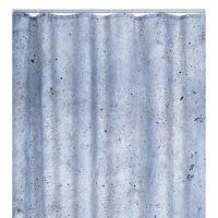 RIDDER Perdea de duș Cement, 180 x 200 cm