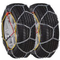 Lanțuri pentru zăpadă pentru anvelope auto, 12 mm KN 80, 2 buc