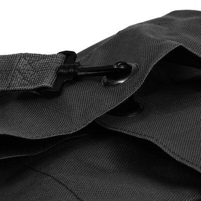 vidaXL Rucsac în stil militar, 85 L, negru