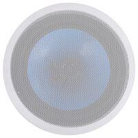 vidaXL Difuzor încorporat în perete și tavan, cu tweeter, 180 W