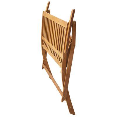 vidaXL Bancă de grădină cu pernă, 120 cm, lemn masiv de acacia