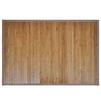 Covor de baie din bambus, 60 x 90 cm, maro