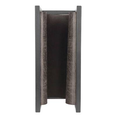 LABEL51 Suport reviste, antracit, 45x20x38 cm