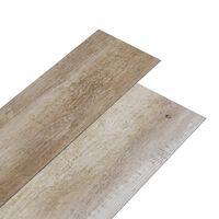vidaXL Plăci pardoseală autoadezive lemn decolorat 5,02 m² PVC 2 mm