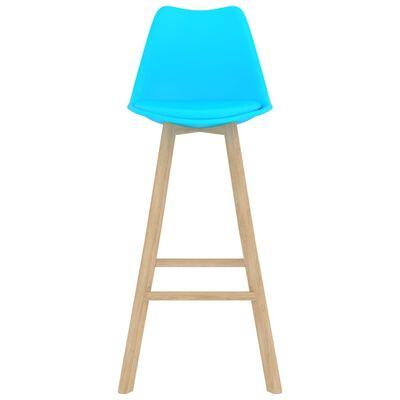 vidaXL Set mobilier de bar, 5 piese, albastru