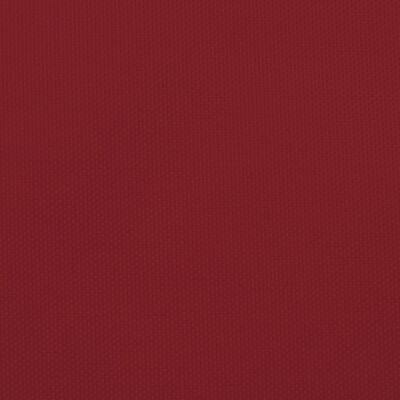 vidaXL Parasolar, roșu, 5x5x6 m, țesătură oxford, triunghiular
