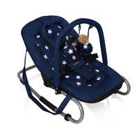 Baninni Leagăn bebeluși Relax Classic Blue Star BNBO002-BLST
