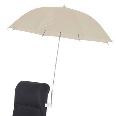 Bo-Camp Umbrelă pentru scaun universală, nisipiu, 106 cm
