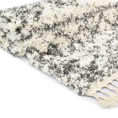 vidaXL Covor berber lățos, bej și nisipiu, 140 x 200 cm, PP