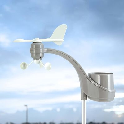 Alecto Stație meteo wireless cu afișaj extra-large, WS-3800