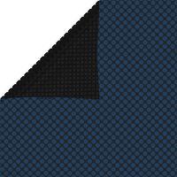 vidaXL Folie solară plutitoare piscină, negru/albastru, 450x220, PE