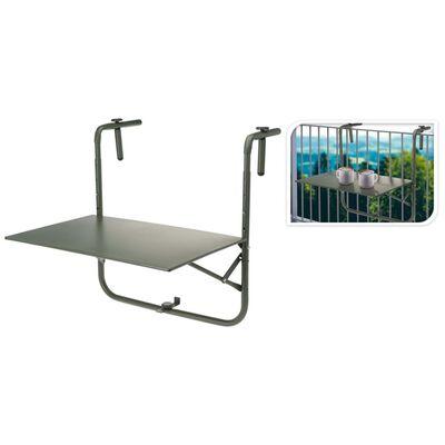 ProGarden Masă pentru balcon, verde mat