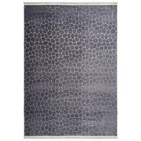 Covor Decorino Unicolor Ider, Gri, 80x140 cm