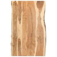vidaXL Blat de masă, 100x(50-60)x3,8 cm, lemn masiv de acacia