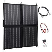 vidaXL Încărcător panou solar pliabil 80 W 12 V