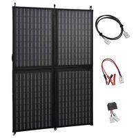 vidaXL Încărcător panou solar pliabil 100 W 12 V