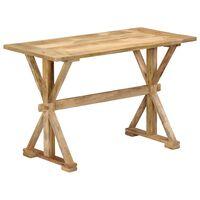 vidaXL Masă de bucătărie, 140x70x76 cm, lemn masiv de mango
