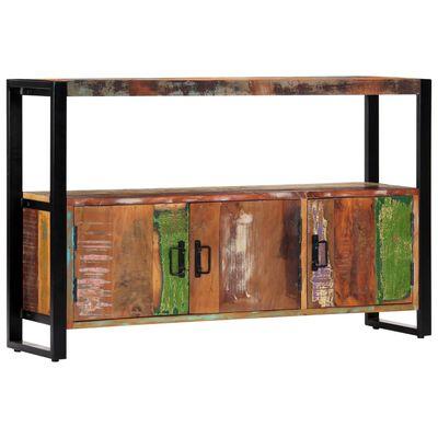 vidaXL Servantă, 120 x 30 x 75 cm, lemn masiv reciclat