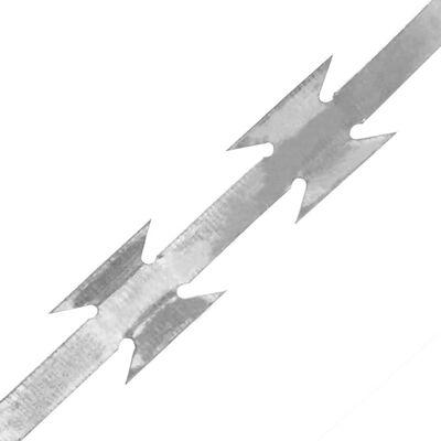 vidaXL Sârmă ghimpată BTO-22 NATO 100 m oțel