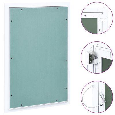 vidaXL Trapă de acces din gips-carton, cadru de aluminiu, 400 x 600 mm